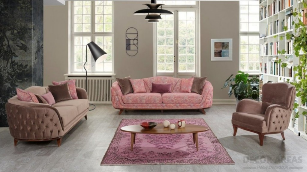 Brown And Pink Seat Models