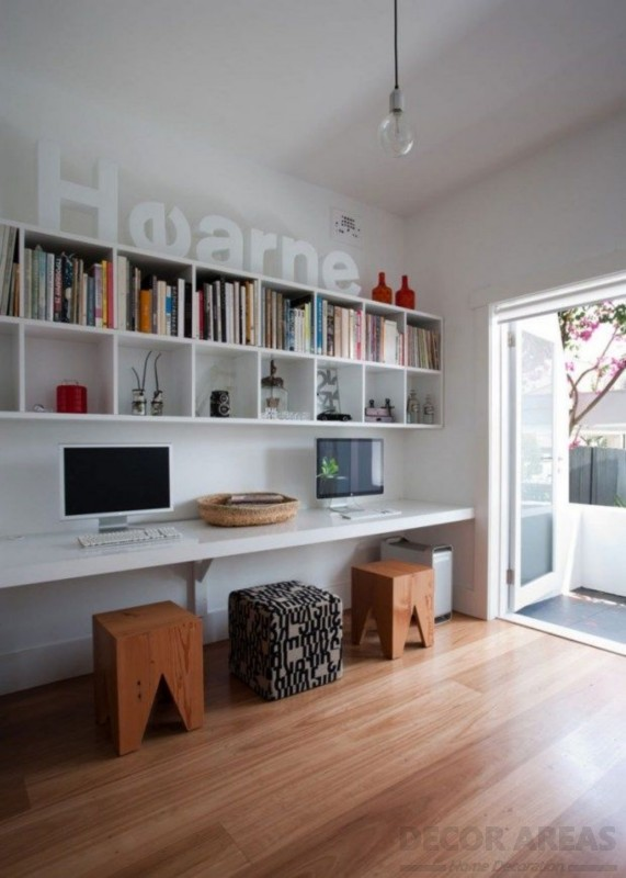 Use Wall Ornaments When Decorating Your Study Room