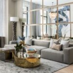 Large Size Living Room Mirror
