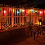 Lighting Ideas for the Garden. Colorful Lights Can Be Preferred.