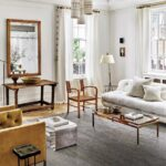The designers designed this amazing living room for old Manhattan apartments
