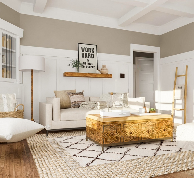 The most beautiful living rooms