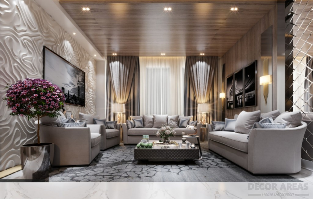 Cream Color Living Room