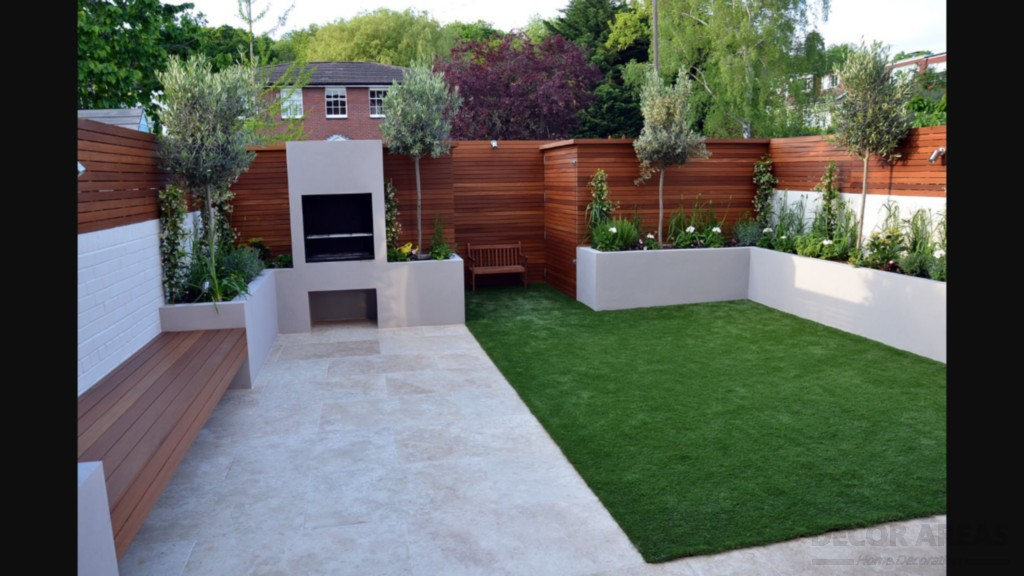 Simple, Stylish And Modern Garden