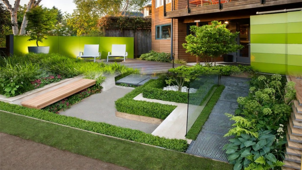 Decorative Garden Seating Areas