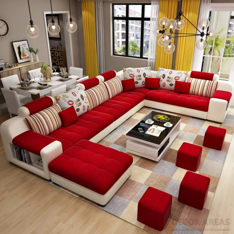 The Most Beautiful Red Sofa Models