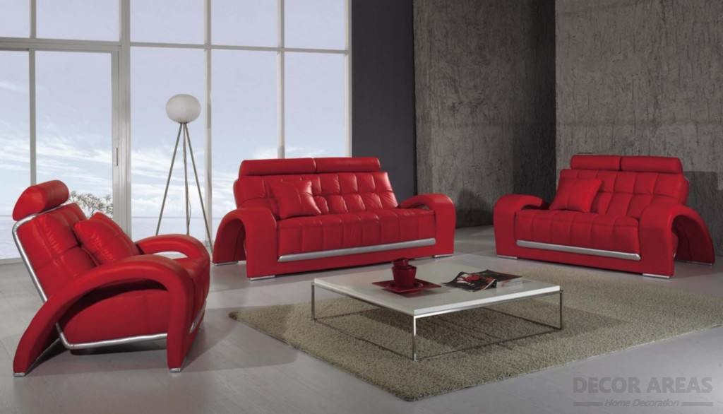 Luxury Red Armchair