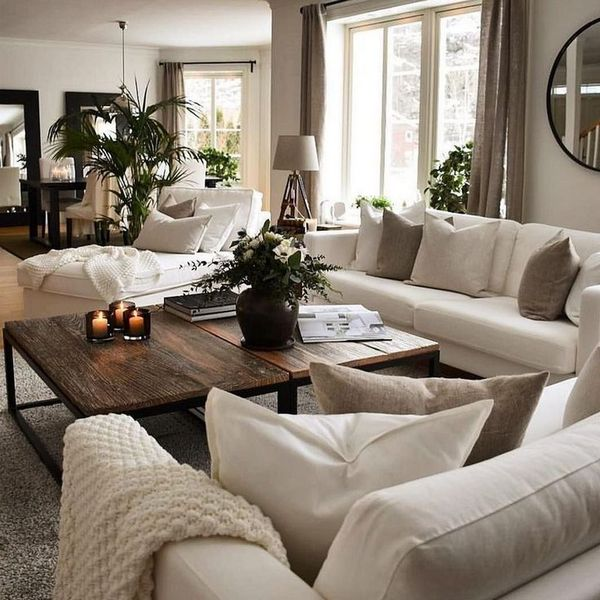 The most beautiful living room decoration