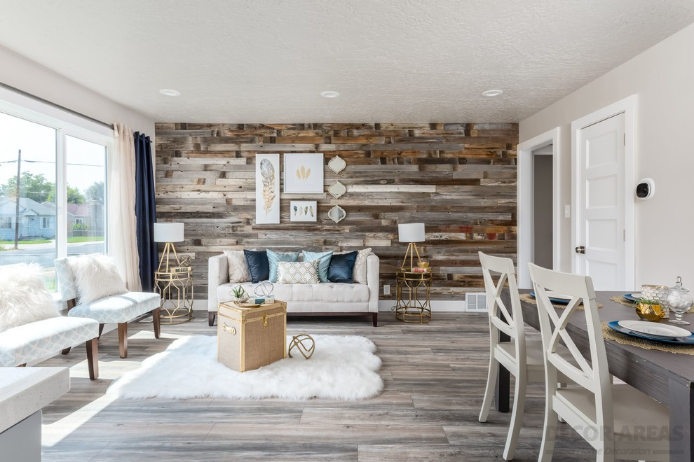 Wood And Beige Color Harmony