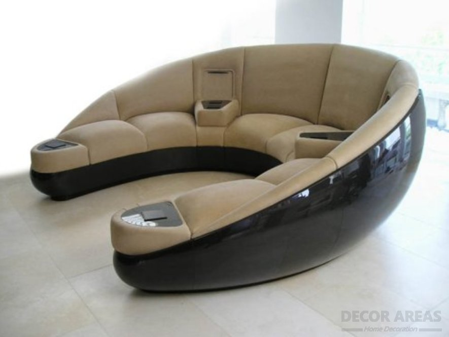 Special Design Sofa For Home Theater