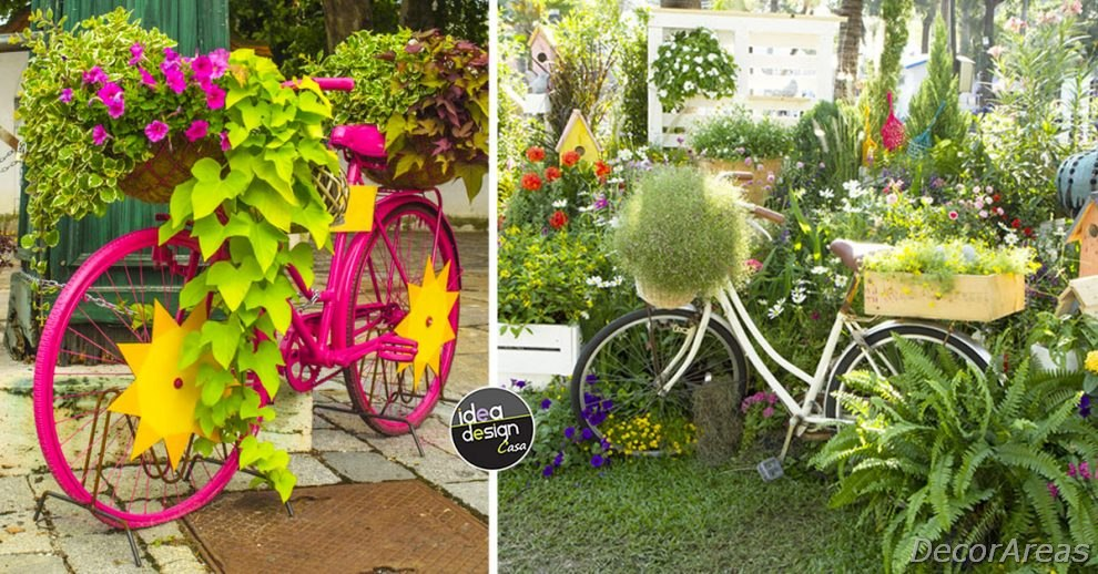 DIY Ideas For Garden Decorations