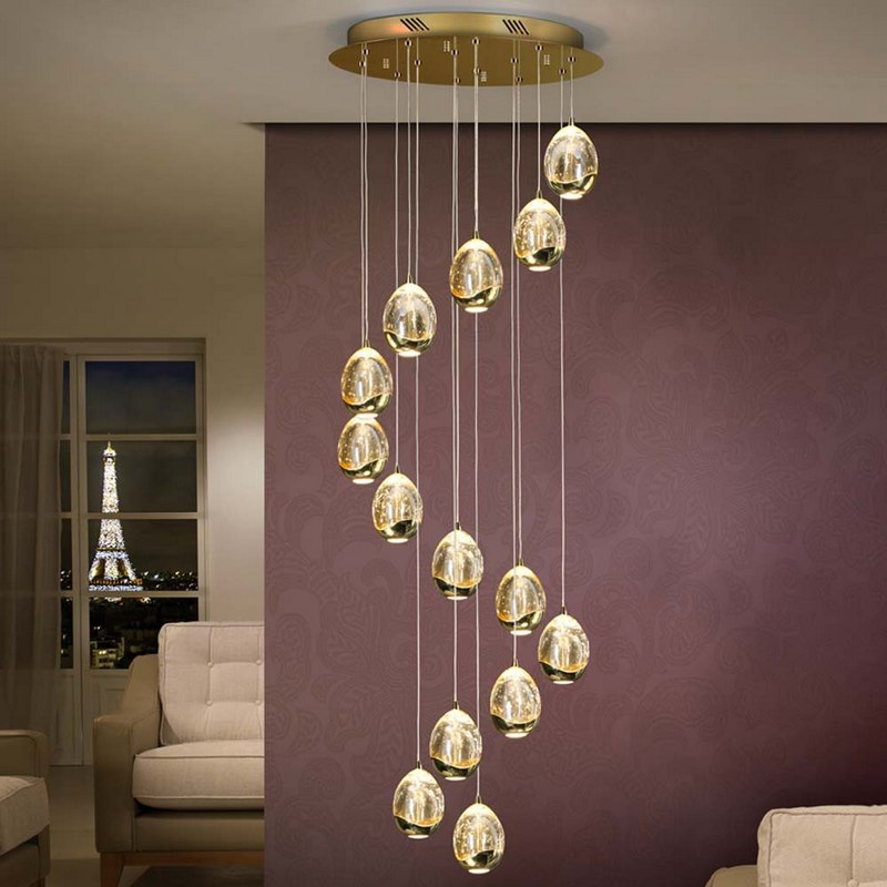 Modern Foyer Chandelier Models That Will Add Sparkle To Your Home Decoration