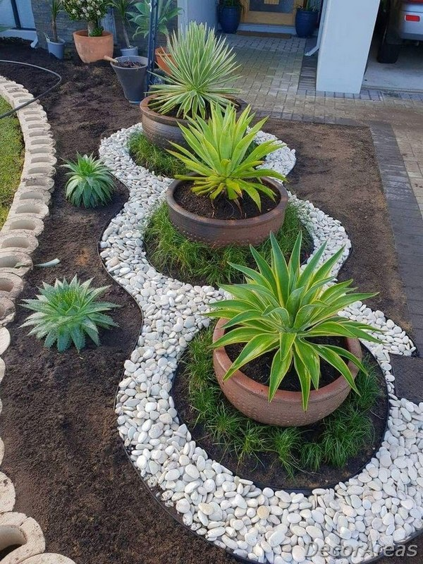 Front Garden and Backyard Landscaping