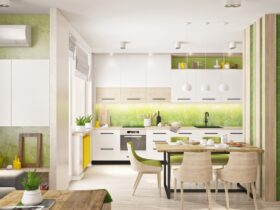 Soothing Colors For The Kitchen
