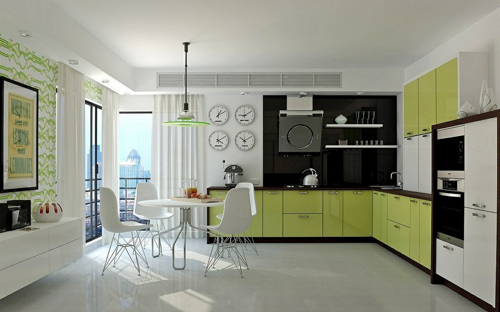 The Most Calming Colors For The Kitchen