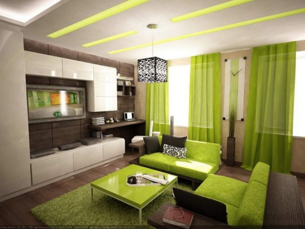 Perfect Green Living Room Decoration