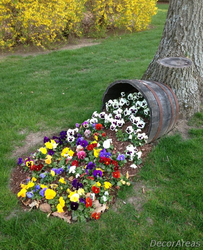 Homemade Garden Decoration Ideas