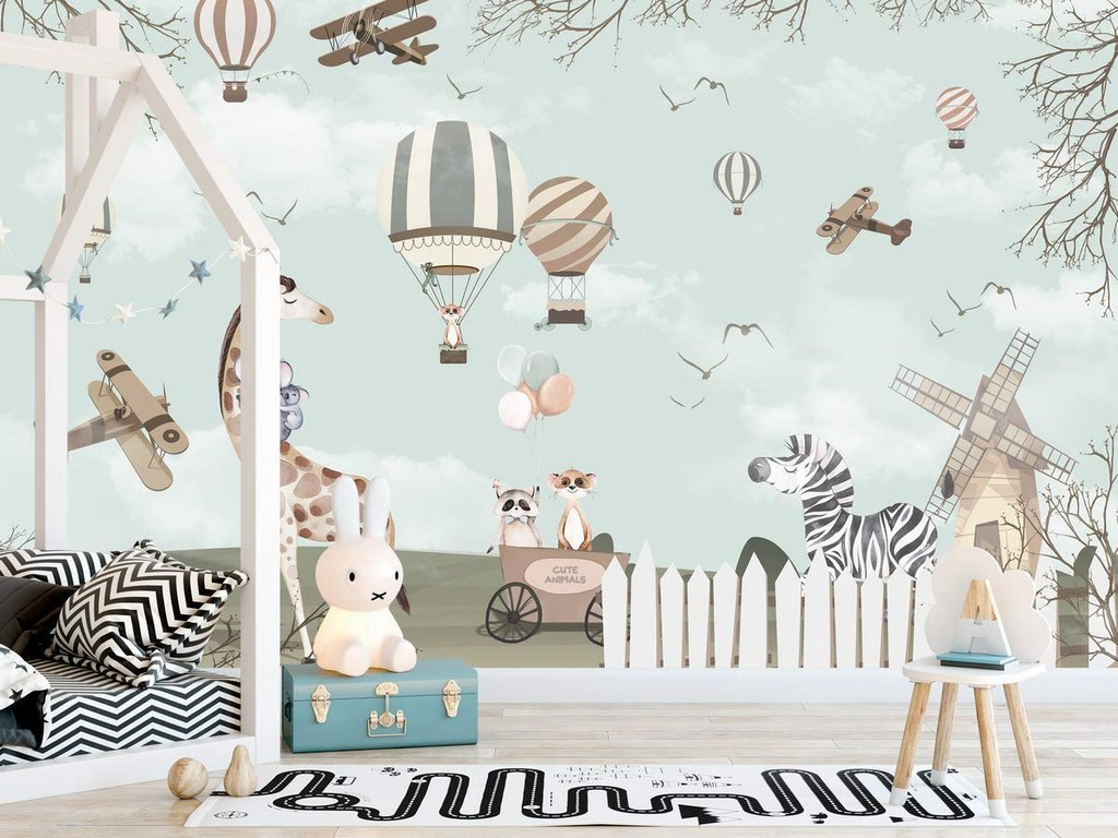 Kids Room Wallpaper ideas