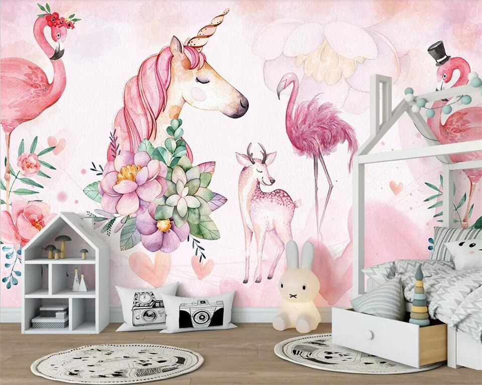 Kids Room Wallpaper (Girls)
