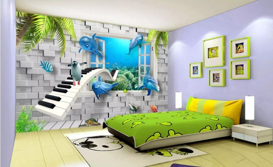 Kids Room Wallpaper (Boys)
