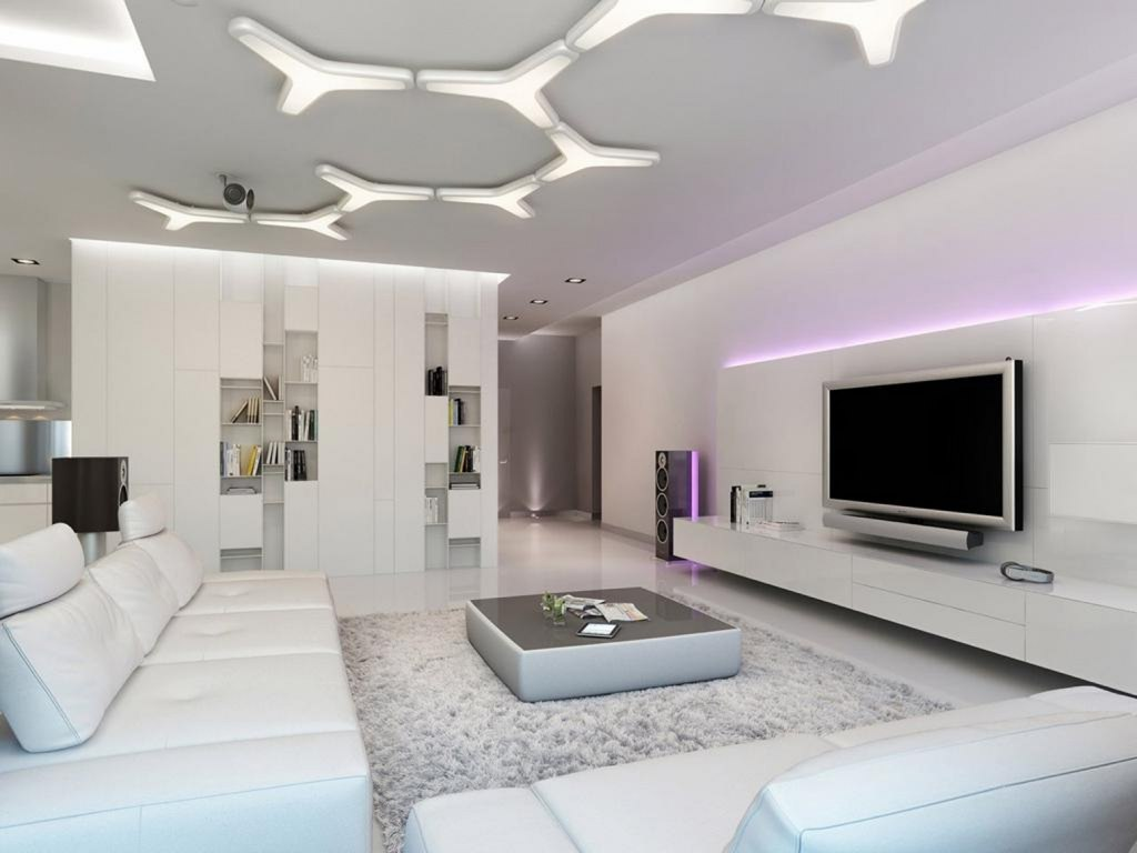 Comfortable And Modern Living Room Decoration
