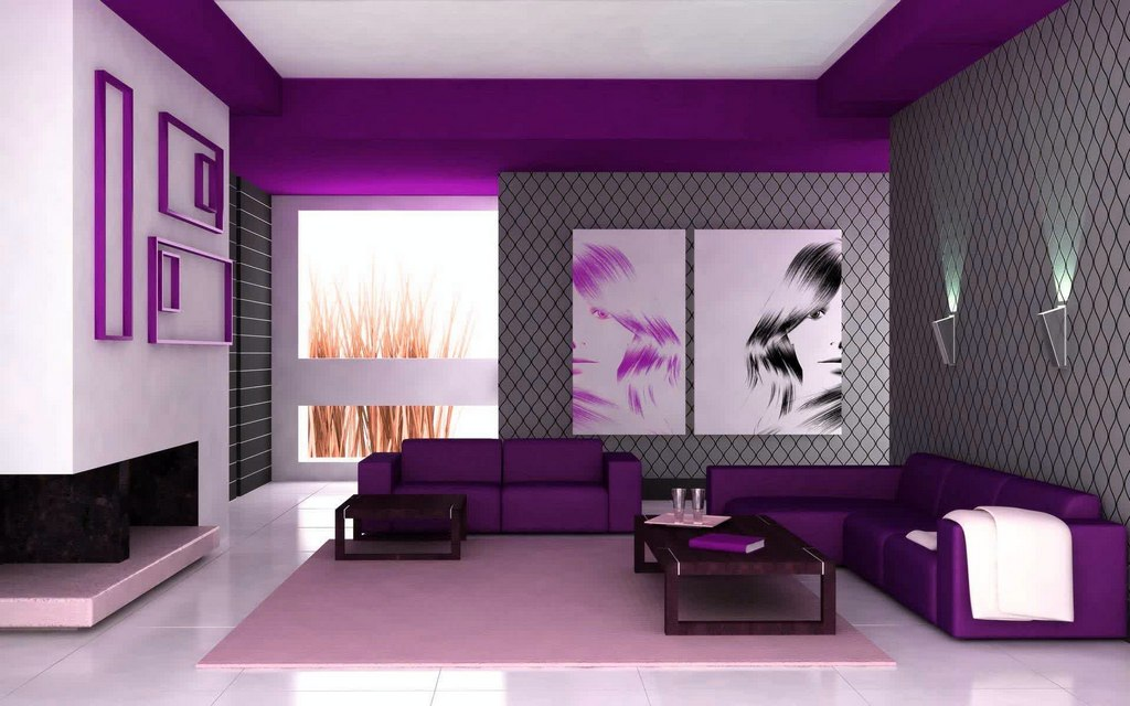 Living Room with Relaxing Colors