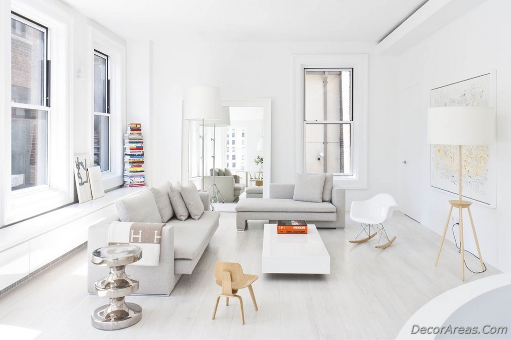 Decoration Ideas For White Living Rooms