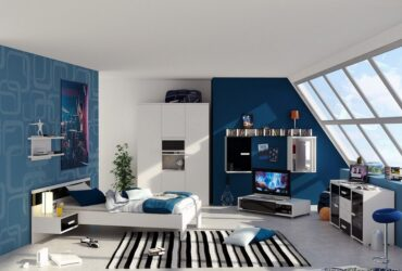 Modern Attic Bedroom Ideas For Teenage Boys