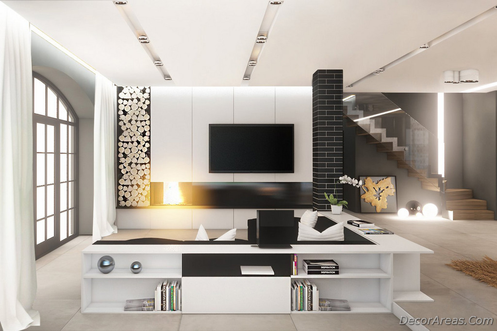 Decoration Ideas For White Living Room