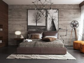 Natural And Cozy Rustic Bedroom