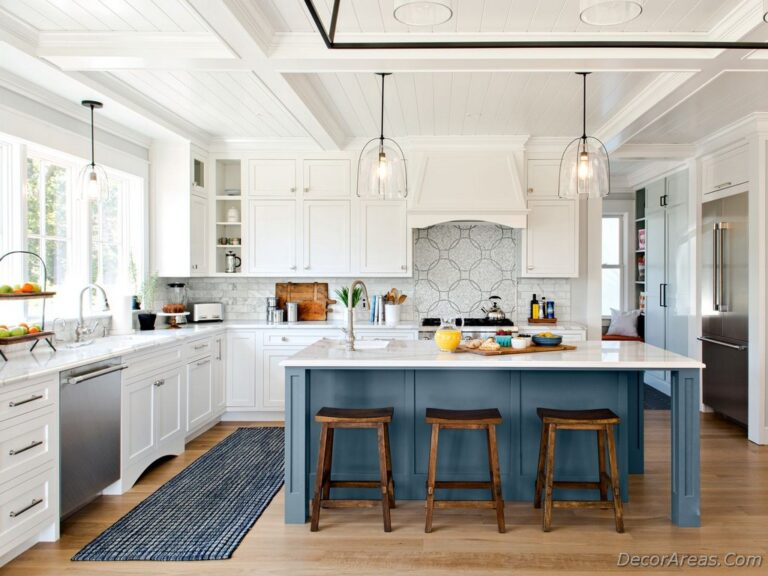 Rustic Kitchen island Decoration