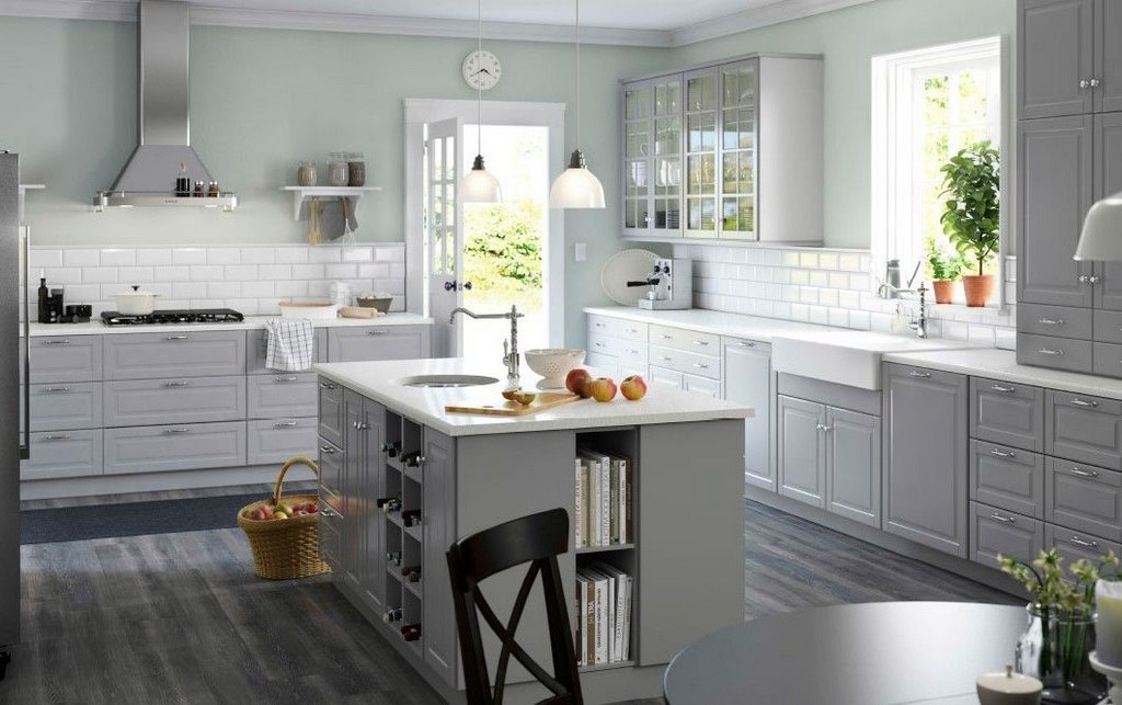 A Relaxing Color Combination For The Kitchen