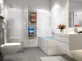 A Stylish And Modern Bathroom
