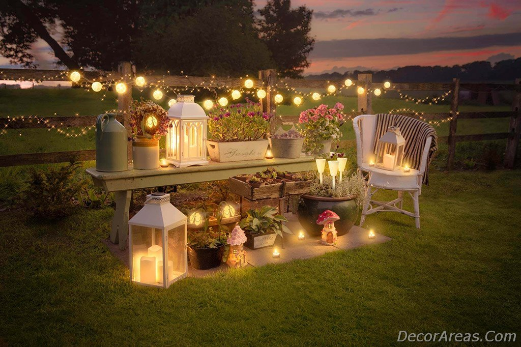 Twinkle Lights For Garden