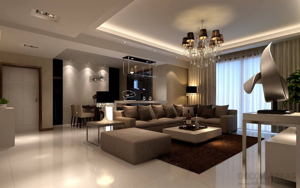 Ultra Luxury Brown Color Decoration