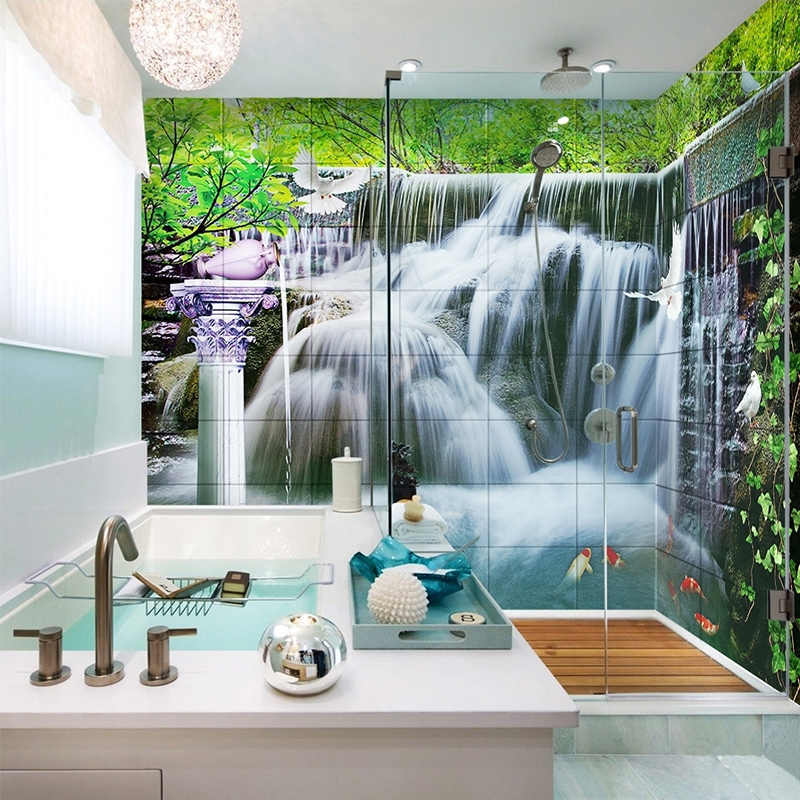 Wallpaper For Bathroom