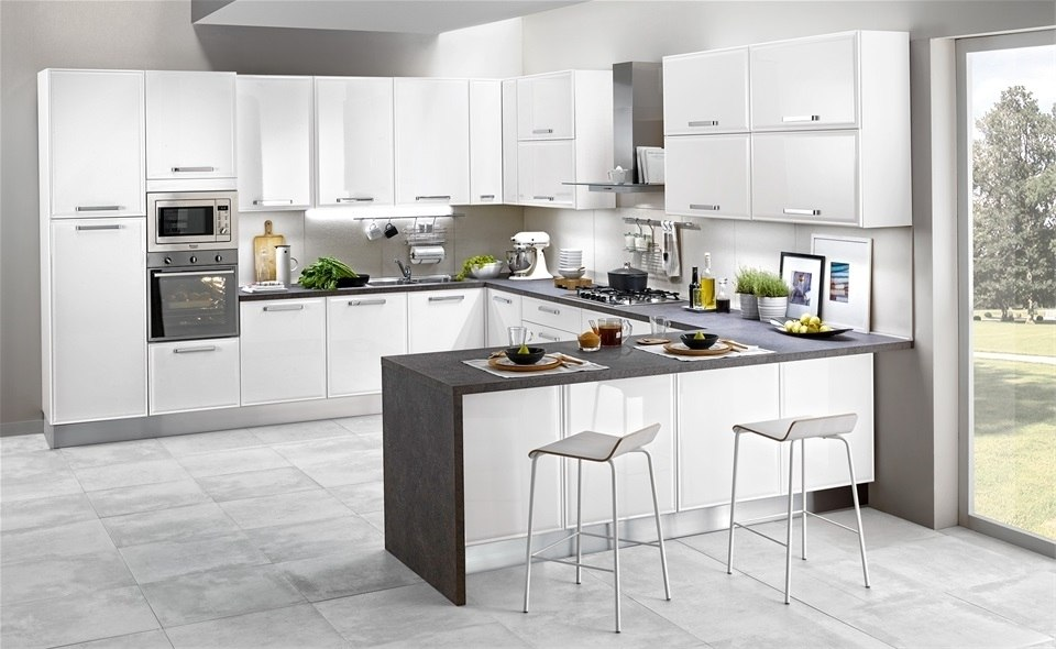 White Kitchen in Modern Style