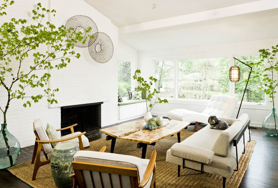 Decorative Products for White Living Room