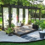 A Nice Seating Area in the Garden