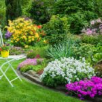 Beautiful Garden Decoration with Flowers