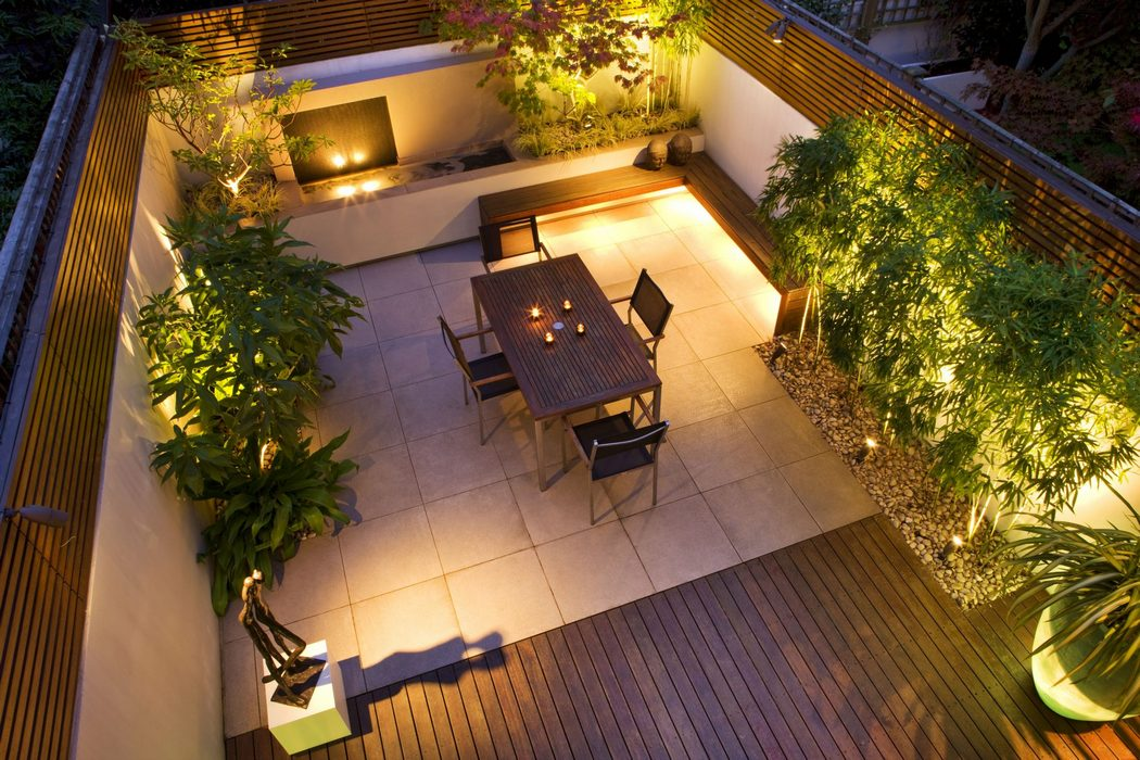 Breathtaking Garden Decoration with Led Lights