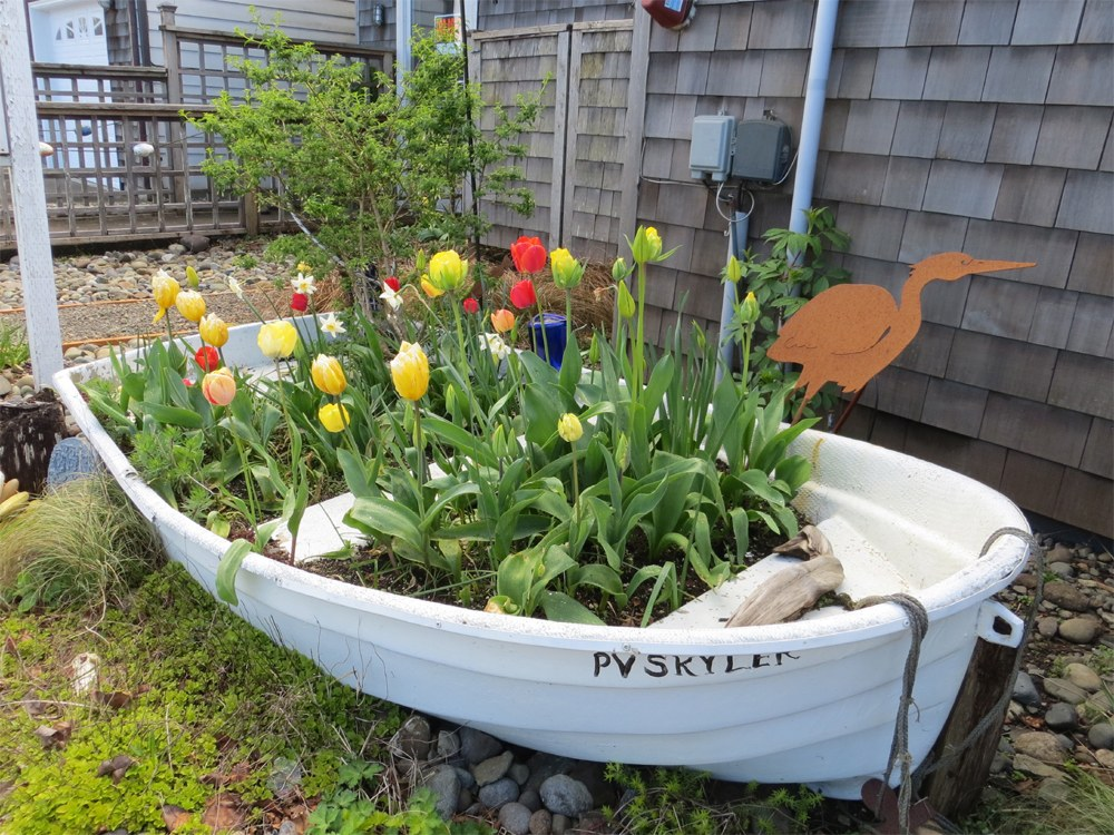 Making a Garden Container from a Kayak