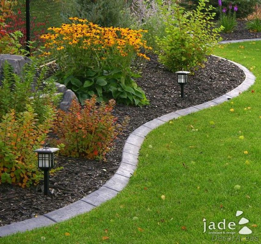 Edging for flower beds