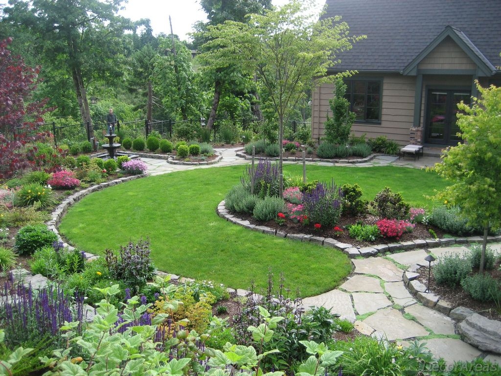 Front yard midwest landscaping ideas