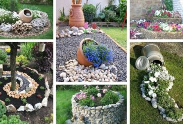 Garden Decoration With Stones