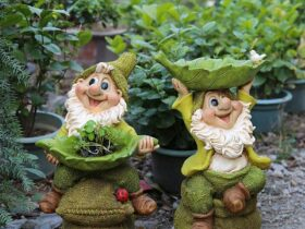 Dwarf Statues For The Garden