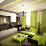 The Relaxing Effect of Green in Your Living Room