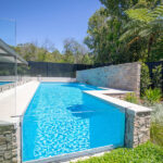 Large Glass Swimming Pool for Garden