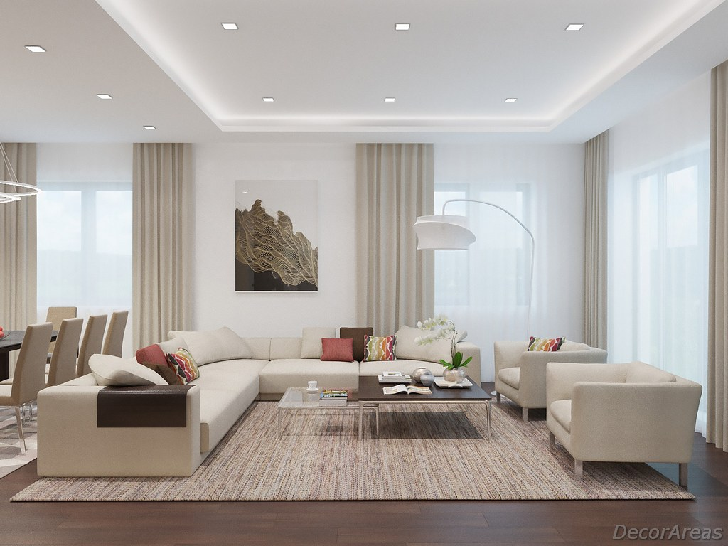 Light Color Living Room