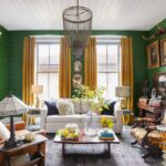 Living Room Decor with Yellow Colors